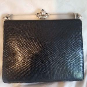 Judith Leiber leather purse